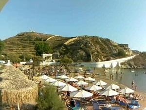 Syros – plage Vari