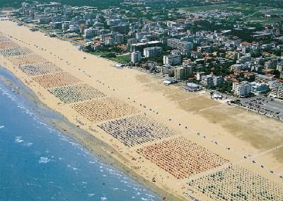 Live webcam Bibione beach chiosco Luna