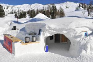 iglu village krvavec ski center webcam