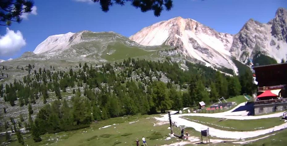 San Vigilio di Marebbe camera en vivo Fanes – 2.060m Dolomitas