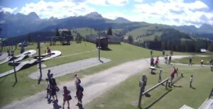 Val Badia Dolomiti Piz la Ila webcam Club Moritzino