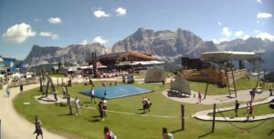 Gadertal – webcam Piz la Ila webcam Club Moritzino Dolomiten