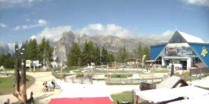 Live Alta Badia webcam Piz La Ila Badia livecam Dolomiti