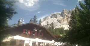 Hütte Lee – Heilig Kreuz webcam Dolomiten