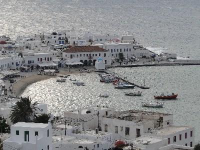 Mykonos webcam old port - Mykonos weather