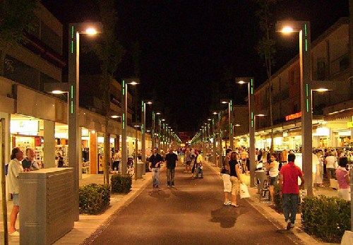 WEbcam Bibione - pedestrian zone