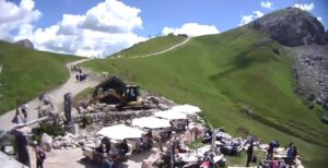 Friedrich August refugio de montaña, Campitello di Fassa (TN) Dolomitas