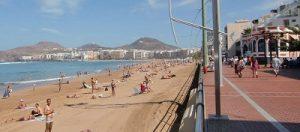 Camera en vivo Playa Las Canteras