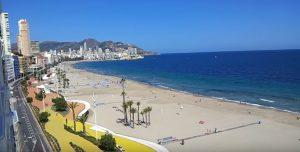 Livecam Benidorm webcam playa de Poniente