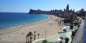 Webcam benidorm Playa de Poniente