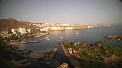 LIVE Webcam Anfi del Mar – panorama  and port – Grand Canaria livecam