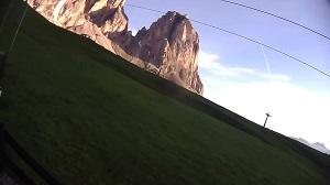 LIVE Fienile Monte webcam Sella Pass – Canazei – Trentino livecam Dolomites
