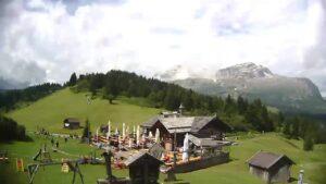 LIVE webcam Alta Badia – La Marmotta Hut (1955m) Corvara – Dolomites