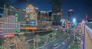 LIVE Webcam Las Vegas from American Eagle Store