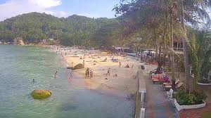 LIVE Webcam Lamai – Koh Samui – Crystal Bay Thaïlande