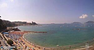 LIVE Webcam Lerici livecam Venere Azzurra beach