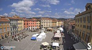 LIVE webcam Sarzana – Piazza Matteotti square – Liguria livecam