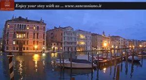 Live cam Gran canale Venezia webcam Venice - San-cassiano hotel