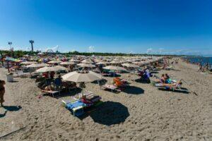 Rosolina mare webcam - Bagno Primavera beach