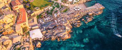 Live webcam Phi beach Sardinia