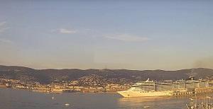 Webcam Trieste port  from Webcam Lanterna – FVG – Italy