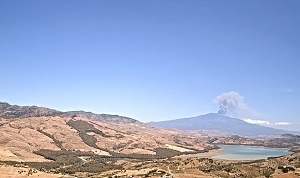 Webcam Live Etna volcano – panoramic view from Agira – Sicily – Italy