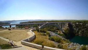 Live Webcam Krk Brücke – Kroatien Livecam