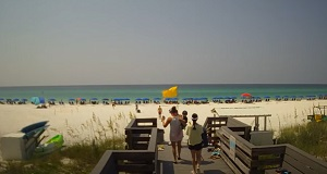 Webcam Live Destin Gulfgate  – beach in Florida – USA Livecam