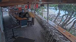 Beach Bar Webcam – The Beach Bar live on St. John in Cruz Bay – U.S. Virgin Islands