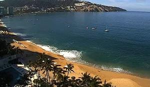 Acapulco – Playa Icacos beach – webcam Guerrero – Mexico