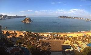 Livecam Acapulco playa El Moro – Guerrero webcam Mexico
