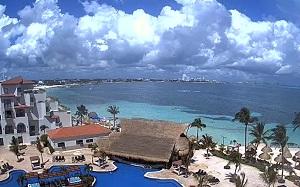 Live Cam Poniente de Cancún – Fiesta Americana Villas –  Quintana Roo – Mexico