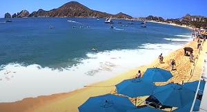 Live webcam Cabo San Lucas – Playa el Medano beach – Baja California Sur – Mexico