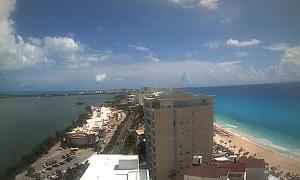 Live Webcam Cancún – panoramic view – Quintana Roo – Mexico