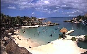 Live webcam El Parque de Xcaret – Quintana Roo – Mexico