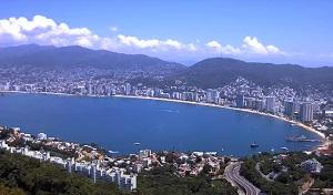 Panoramic view Webcam Bahia de Santa Lucia – Acapulco – Guerrero – Mexico