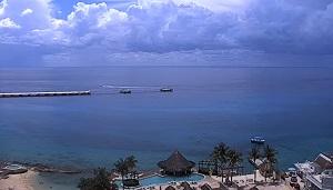 Playa Grand Park Royal beach Cozumel – Quintana Roo webcam Mexico