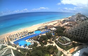 Webcam LIVE Cancún – Hacia el Sur de Cancún – Live Aqua beach resort – Quintana Roo – Mexico