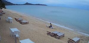 BaoBab resort – Lamai Beach – Koh Samui island webcam Thailand